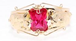 18 Ayar Altın Bircan Modeli Bilezik - Thumbnail