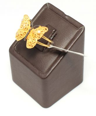 Kelebek Model 22 Ayar Altın Yüzük