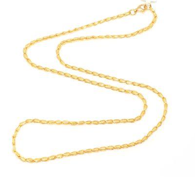 22 Ayar Altın Spiral Model Zincir, İnce
