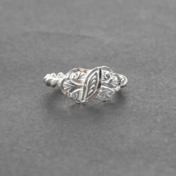925 Ayar Gümüş Burma Yüzük - Thumbnail