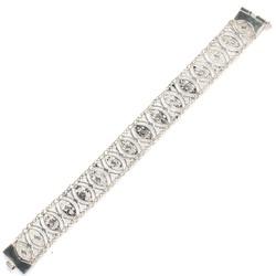 925 Ayar Gümüş Kalın Bileklik - Thumbnail