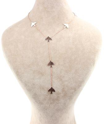 925 Ayar Gümüş Kırlangıç'lı Y Kolye