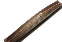 925 Ayar Gümüş Sonsuzluk Modeli Canım Annem Yazılı Bileklik, Pembe - Thumbnail