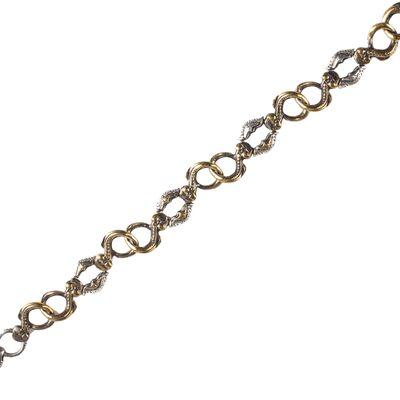 925 Ayar Gümüş ve Bronz Karışımı Antik Bileklik