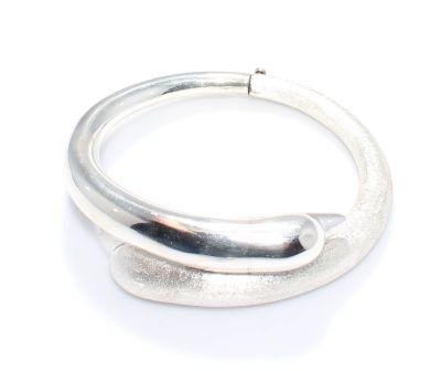 925 Ayar Gümüş Elişi Yunus Modeli Bilezik