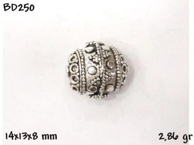 Gümüş Top, Boncuk - BD250