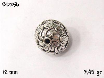Gümüş Top, Boncuk - BD256