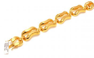22 Ayar Altın Bufalo Model Bileklik