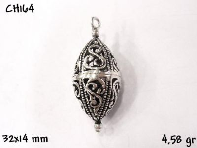 Gümüş Charm Kolye Ucu - CH164