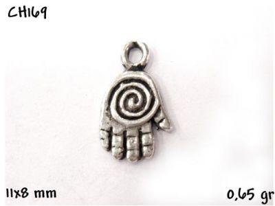 Gümüş Charm Kolye Ucu - CH169