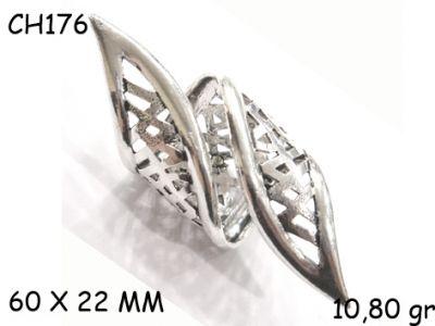Gümüş Charm Kolye Ucu - CH176