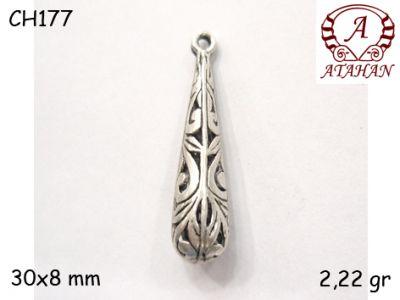 Gümüş Charm Kolye Ucu - CH177