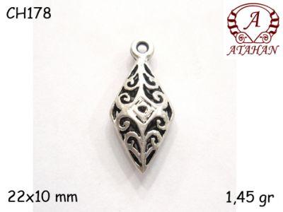 Gümüş Charm Kolye Ucu - CH178