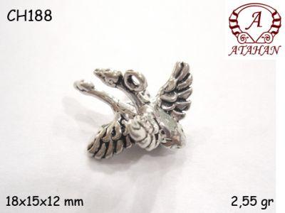 Gümüş Charm Kolye Ucu - CH188
