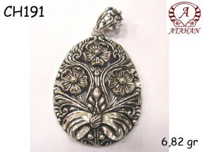 Gümüş Charm Kolye Ucu - CH191