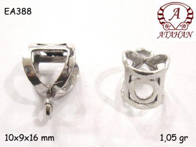 Gümüş Küpe Malzemesi - EA388