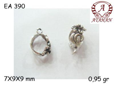 Gümüş Küpe Malzemesi - EA390