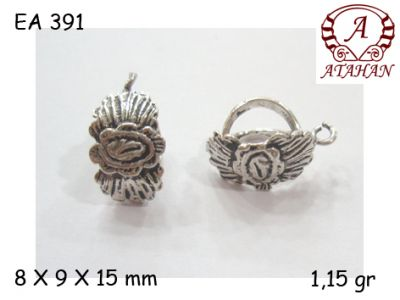 Gümüş Küpe Malzemesi - EA391