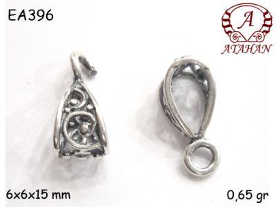 Gümüş Küpe Malzemesi - EA396