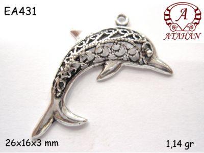 Gümüş Küpe Malzemesi - EA431