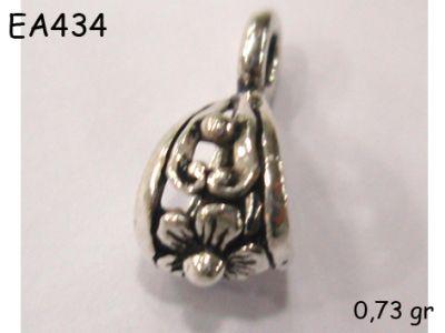 Gümüş Küpe Malzemesi - EA434