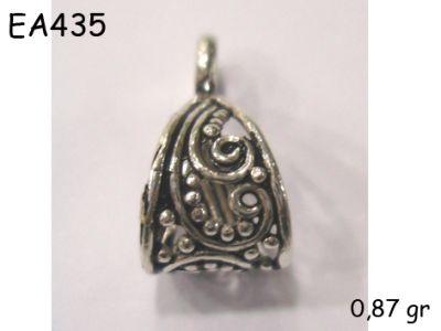 Gümüş Küpe Malzemesi - EA435