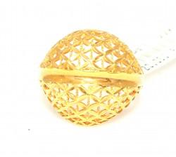 22 Ayar Altın Kubbe Model Füzyon Yüzük - Thumbnail