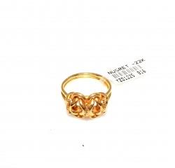 22 Ayar Altın Prenses Yüzük - Thumbnail