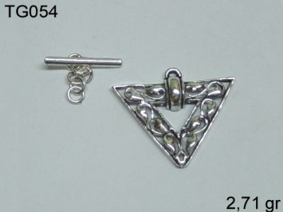 Gümüş Çubuklu Kilit - TG054