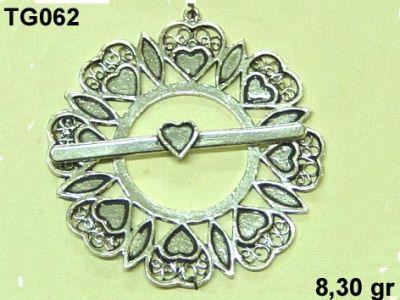 Gümüş Çubuklu Kilit - TG062
