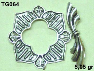 Gümüş Çubuklu Kilit - TG064
