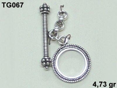 Gümüş Çubuklu Kilit - TG067