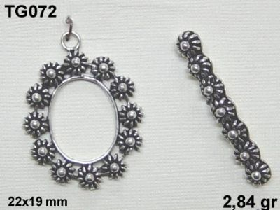 Gümüş Çubuklu Kilit - TG072