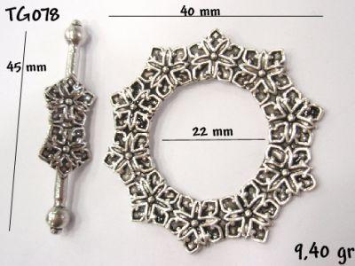 Gümüş Çubuklu Kilit - TG078
